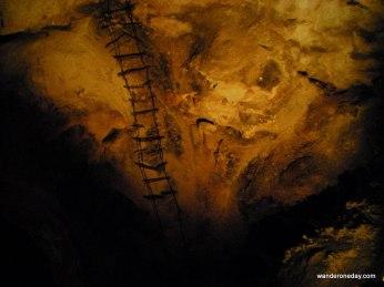 Climbing into the shadows at Carlsbad Caverns, NM