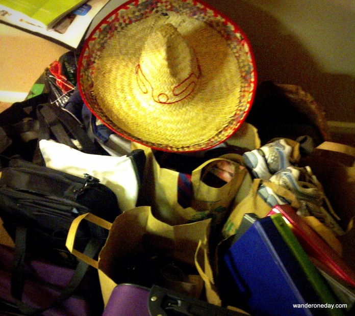 The hat was one of many possessions we discarded before moving from Arizona to Pennsylvania.